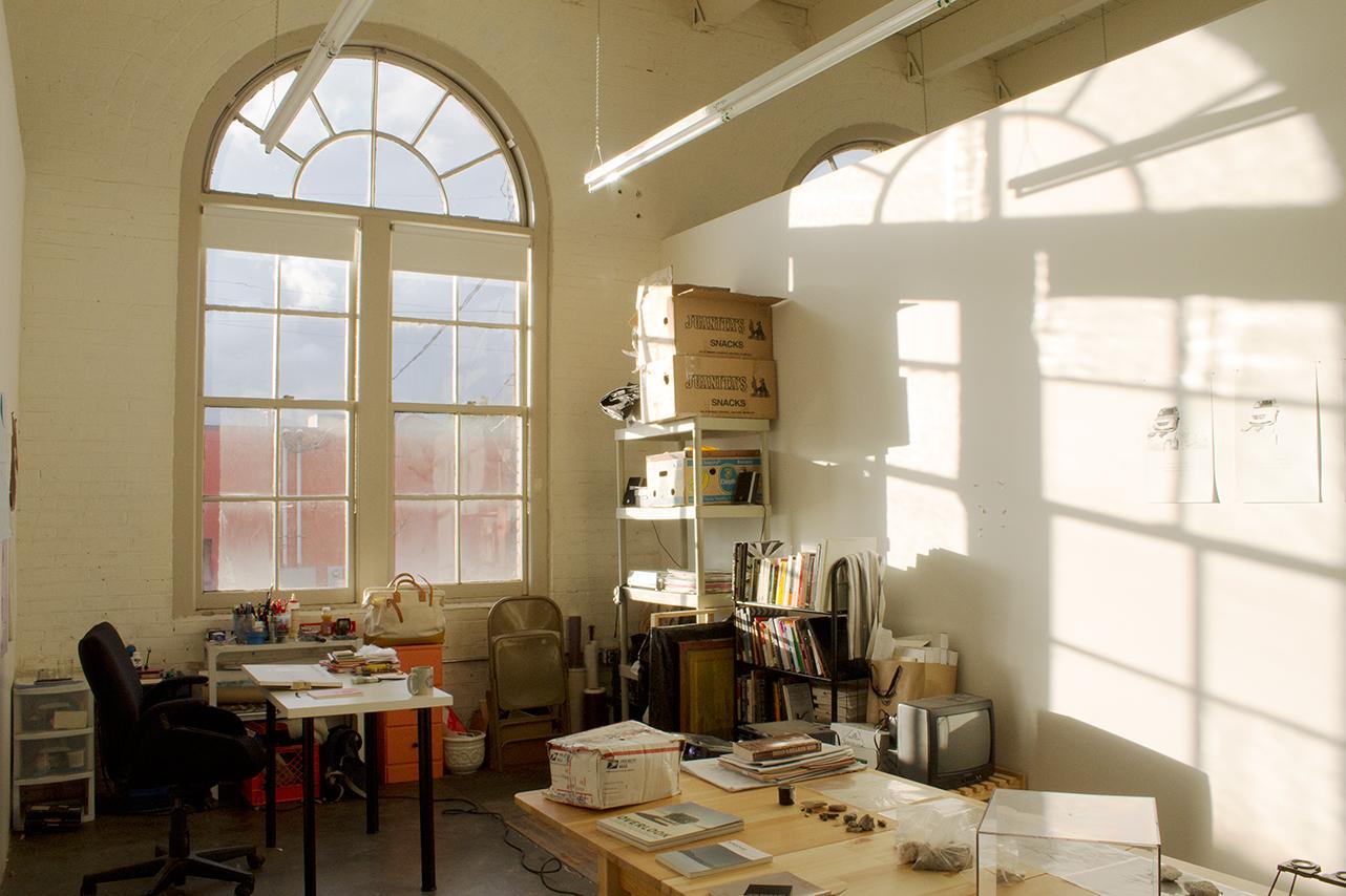 Rainmaker Residency. Studio of Jodie Cavalier MFA 2012 PNCA