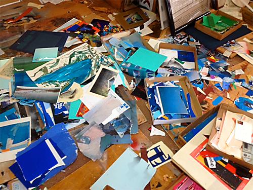 Eunice Parsons' studio detail